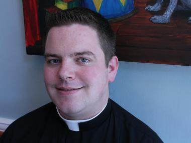 Father Joseph Zwosta is one of six new priests to be ordained in Brooklyn this year.
