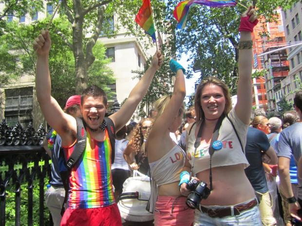 Celebrate Pride this weekend at a number of marches and rallies across Manhattan.