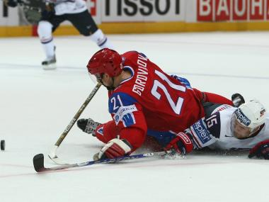 New York hockey fans could get a chance to see Russia's Konstantin Gorovikov on the ice this winter at the Barclays Center.