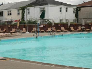 The pool at the Fairview Swim Club.