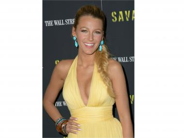 Blake Lively in Gucci at a screening of the new movie 'Savages' on Wednesday, June 27, 2012, hosted by The Wall Street Journal and the Peggy Siegal Company at the SVA Theater in Chelsea.