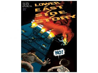 A cover from the comic Lower East Side Story