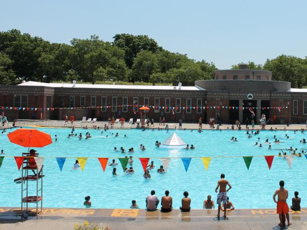 Best public outdoor pools in nyc east harlem new york dnainfo for Community swimming pools near me
