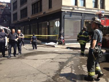 Two people died in a fire at 83 Henry St. in Chinatown.