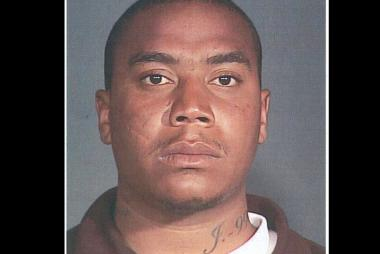 A man police identified as Omar Cepeda, 27, who is wanted in the case of a stabbing death on June 24, 2012.