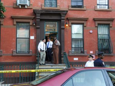 Three people, including a 7-year-old boy, were found dead inside 749 Lafayette Ave. in Bedford-Stuyvesant on Tuesday, July 3, 2012.
