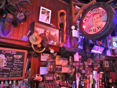 Kenny's Castaways is full of memorabilia from its 45 years in operation.