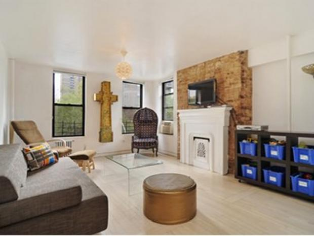East Village Floor Through Apartment Offers Spawling Layout