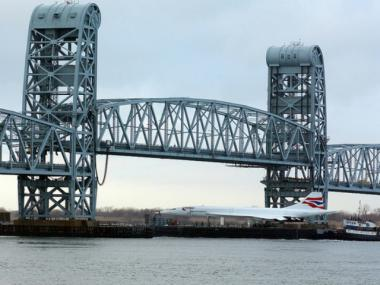 The iconic Marine Parkway bridge, connecting Brooklyn to the Rockaways, turns 75 on Tues., July 3, 2012.