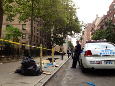 Dante Sanders, 19, was shot and killed outside the Chelsea Houses early Monday morning, July 9, 2012, the NYPD said.