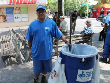 Joshua Ramirez is one of the people who will be working in Woodside as part of the program.