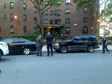 A man was stabbed at 250 Clinton Street in the LaGuardia Houses on July 10, 2012.