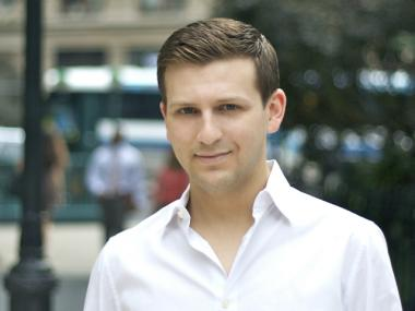 Adam Glick, 27, has been named the Martin Friedman Curator for the Madison Square Park Conservancy.