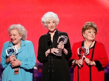 An abandoned East 13th Street building will be turned into a center for homeless LGBT youths named after gay-rights champion Bea Arthur, here with actresses and former Golden Girls cast mates Betty White (l) and Rue McClanahan (r).