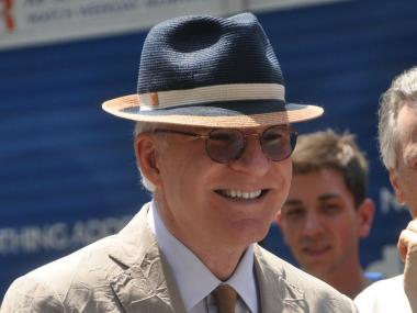 Steve Martin in Midtown on Wednesday.