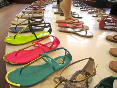 Flats are all the rage in summer 2012.