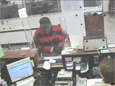 Police are searching for a man wanted for robbing a Mott Haven bank.