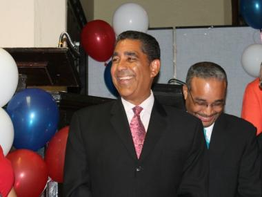 State Sen. Adriano Espaillat launched his re-election campaign Wednesday.