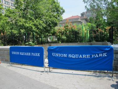 The restaurant group planning to open a restaurant inside the Union Square pavilion also intends to open a takeaway food kiosk on the northwest side of Union Square Park.