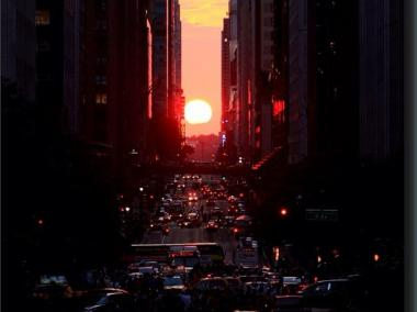 Manhattanhenge will stun New Yorkers on May 29 and 30 and July 12 and 13 this year.
