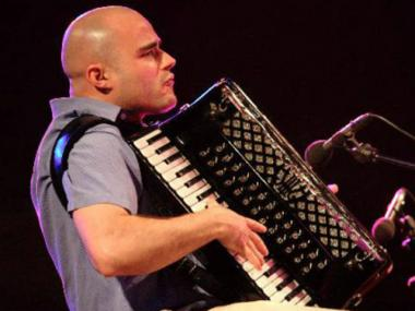 Challenge your senses as Victor Prieto performs classical music and Celtic tunes on an accordion.