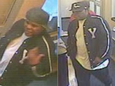Police say this is one of two men who pretended to be cops and robbed a tourist near Times Square.
