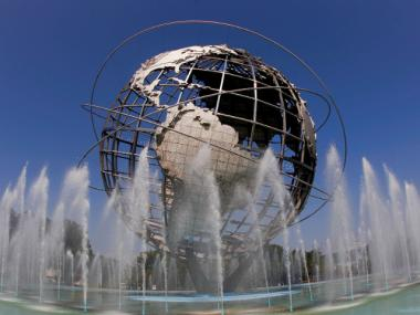 The Unisphere is a nonprofit conservancy group Estelle Cooper helped set up.