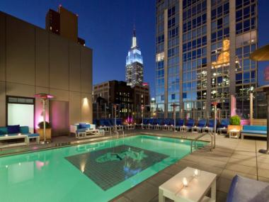 The rooftop at the Gansevoort Park Hotel is hosting a series of summer parties every Sunday from 3:30 to 8:30 p.m.