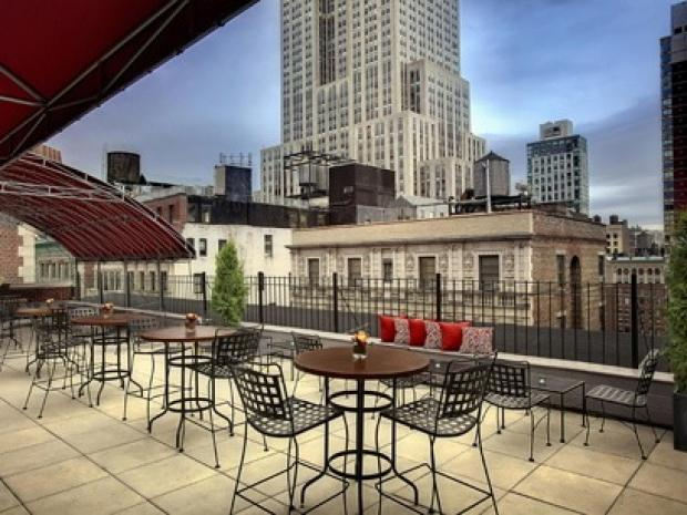 DNAinfo.com New York has assembled a list of bars with a view — without the attitude.