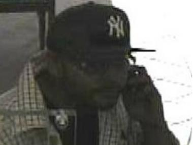 Cops are on the hunt for this man, wanted for robbing an Amalgamated Bank branch on 37th Avenue in Jackson Heights.