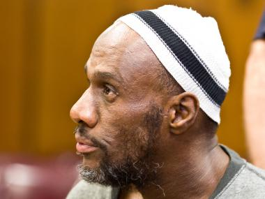 Carl Knox appears in Manhattan Supreme Court on July 19th, 2012 to face charges of murder in the East Village.