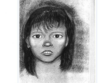 Police released this sketch of the girl who was found dead inside a cooler alongside the Henry Hudson Parkway in Inwood back in 1991.