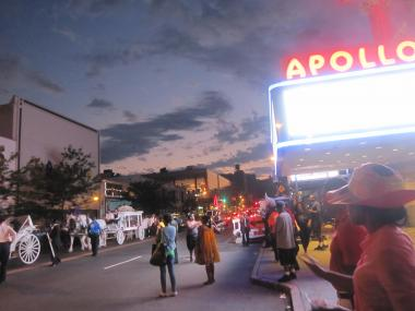 The historic Apollo Theater is hosting a debate watch party at 6:30 p.m. on Oct. 16, 2012.