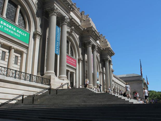 The Metropolitan Museum's $60 million plaza rehab will impact Fifth Avenue traffic from Oct. 15 to Nov. 15.