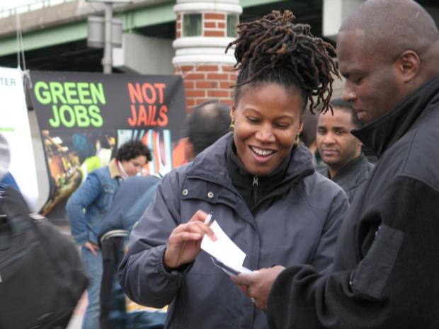 In an effort to counter foster local support for its planned move to The Bronx, FreshDirect recently hired Majora Carter, the award-winning environmentalist who founded a green jobs nonprofit in Hunts Point and now runs a for-profit consultancy.