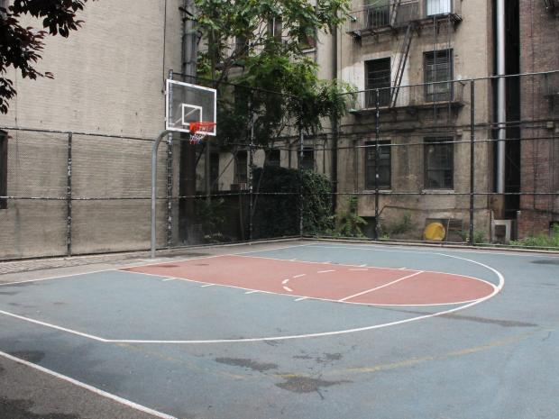 Local kids were surprised to hear of requests to cut the court from Ramon Aponte Park.