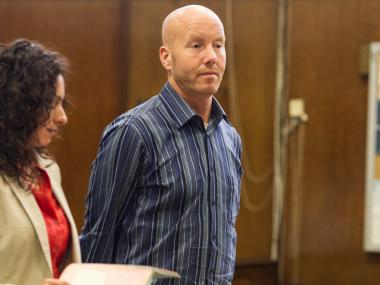 John Yoos appears in Manhattan Criminal Court on Aug. 3rd, 2012.