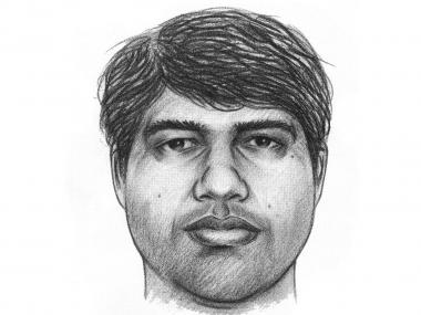 Police say the suspect is a 40-year-old Indian man.