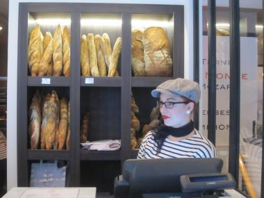 Maison Kayser is famous for its artisanal bread.
