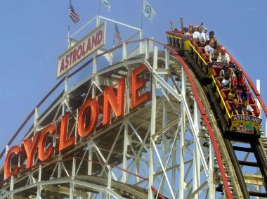 A Coney Island Cyclone rider is suing its operators, claiming she was injured on the roller coaster.