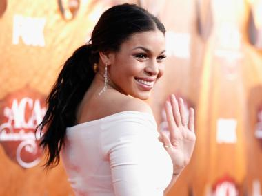 LAS VEGAS, NV - DECEMBER 05: Singer Jordin Sparks arrives at the American Country Awards 2011 at the MGM Grand Garden Arena on December 5, 2011 in Las Vegas, Nevada.