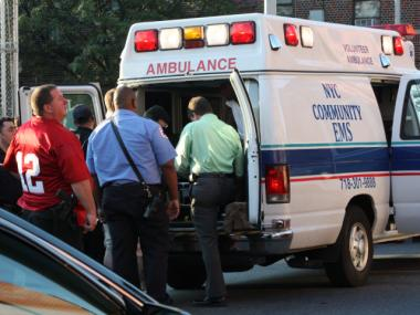 Four teenagers were shot and wounded on a Brownsville Monday night, Aug. 13, 2012, the NYPD said.