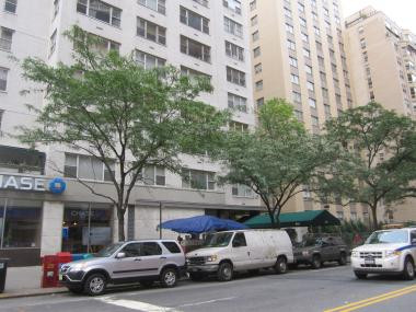 The newsstand proposed for E. 79th Street and Third Avenue was rejected based on DOT siting guidelines, city officials said.