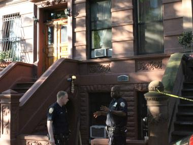 A 23-year-old man was shot and killed in a West 120th Street bed and breakfast early Thursday, the NYPD said.