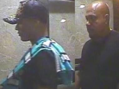 The men in this photo were part of a trio that allegedly robbed three people in a Washington Heights apartment Friday, Aug. 10, 2012, the NYPD said.