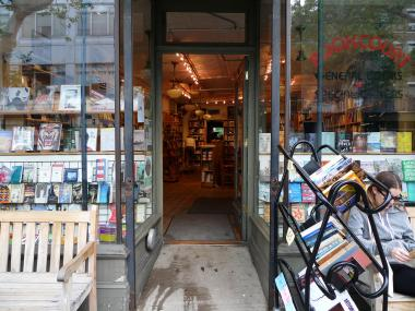 Book Court is located at 163 Court Street in Cobble Hill.
