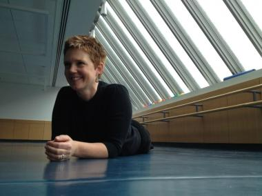 Shannon Hummel, artistic director of Cora Dance in Red Hook, choreographed the 'pop-up dances' -- 'Bench' and 'Door' -- being performed in Red Hook on Aug. 22, 29, and Sept. 7, 2012.
