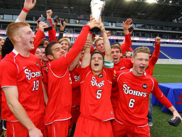St. John's defeated UConn 1-0 to win the 2011 Big East championship.