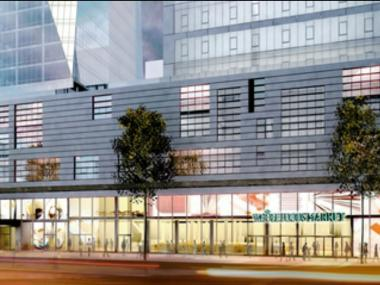 Rendering of the Whole Foods coming to East 57th Street.