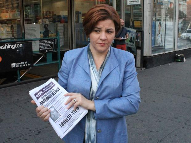 City Council Speaker Christine Quinn warned people Aug. 23, 2012 about a recent sexual assault at a massage parlor.